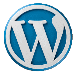 Wordpress logo 250