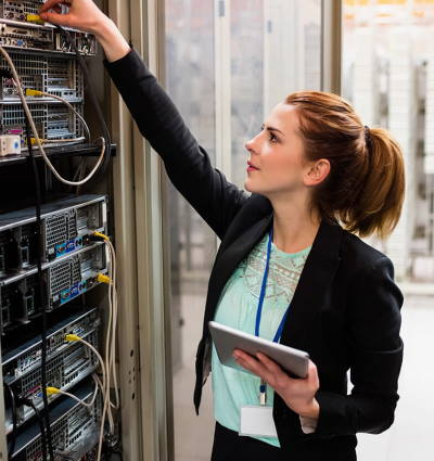 Advanced Admin Features allow you to control user activity, back end configuration and complete server control